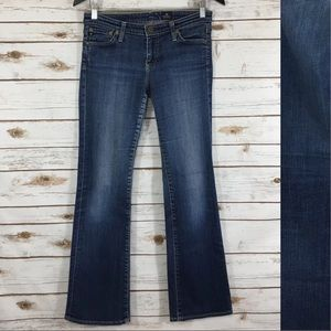 AG Adriano Goldschmied Slim Flare Stretch Jean